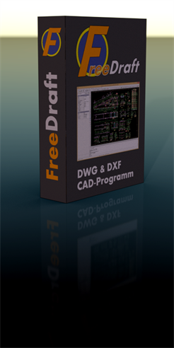 FreeDraft 2D DWG DXF CAD